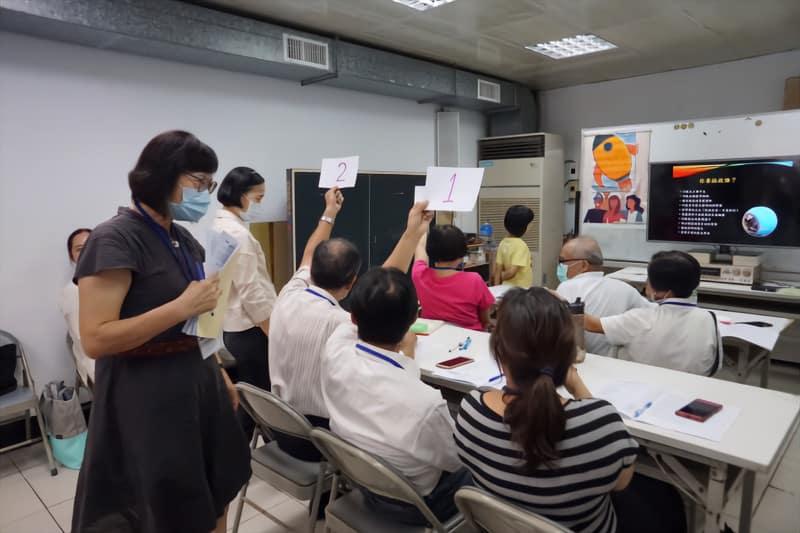 新竹湖口志工特殊訓練發問時間