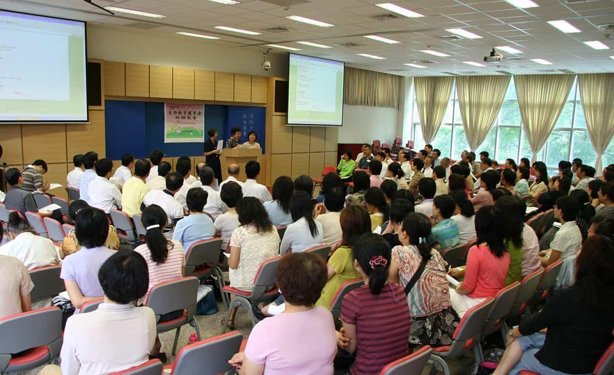 2007.08.25-四會所提供場地進行志工訓練